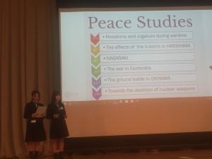 CIF in 長崎③ 女学院 Presentation