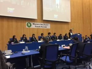 NPT再検討会議 第1準備委員会 ⑨ 高校生派遣団,  ウィーン 最後の日。