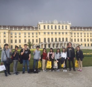 NPT再検討会議 第1準備委員会 ⑦ 高校生派遣団,  ウィーン  6日目。