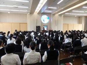 高2 学年礼拝