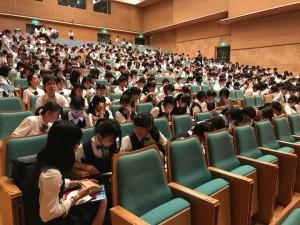第一回全国高校教育模擬国連大会に参加しました