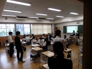 高2 PS 沖縄修学旅行 グループ別学習 本番!