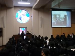 高2 PS 沖縄修学旅行 コース別平和学習 報告会