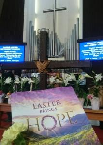 GIハワイ研修② Day 2-1 イースター礼拝に参加しました