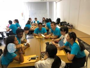HSD(High School Diplomats) 高校生外交官プログラムとの交流会