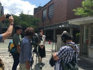 「ひろしま県民テレビ」に本校の高3生が出演します!