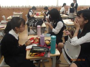 女学院ランチ