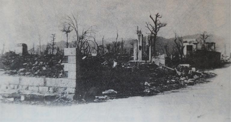 被爆直後の女学院