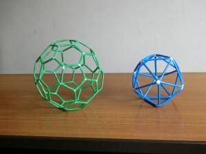 正20面体とサッカーボール