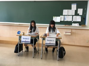 Jogakuin Students Participated in the NFLJ Debate Competition in Tokyo