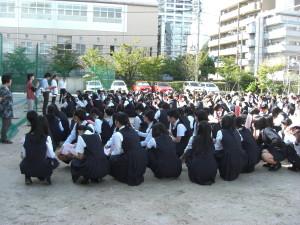 今日の女学院1